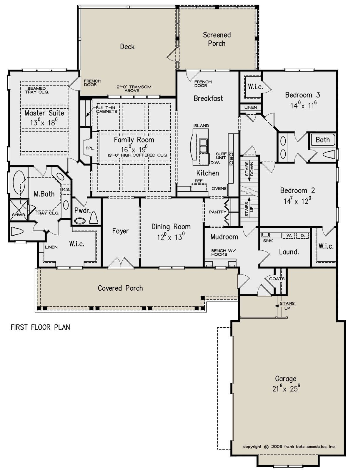 House Plan 8594 00262 Country Plan 2 325 Square Feet 3 4 Bedrooms 2 5 Bathrooms House Plans Floor Plans Bedroom House Plans