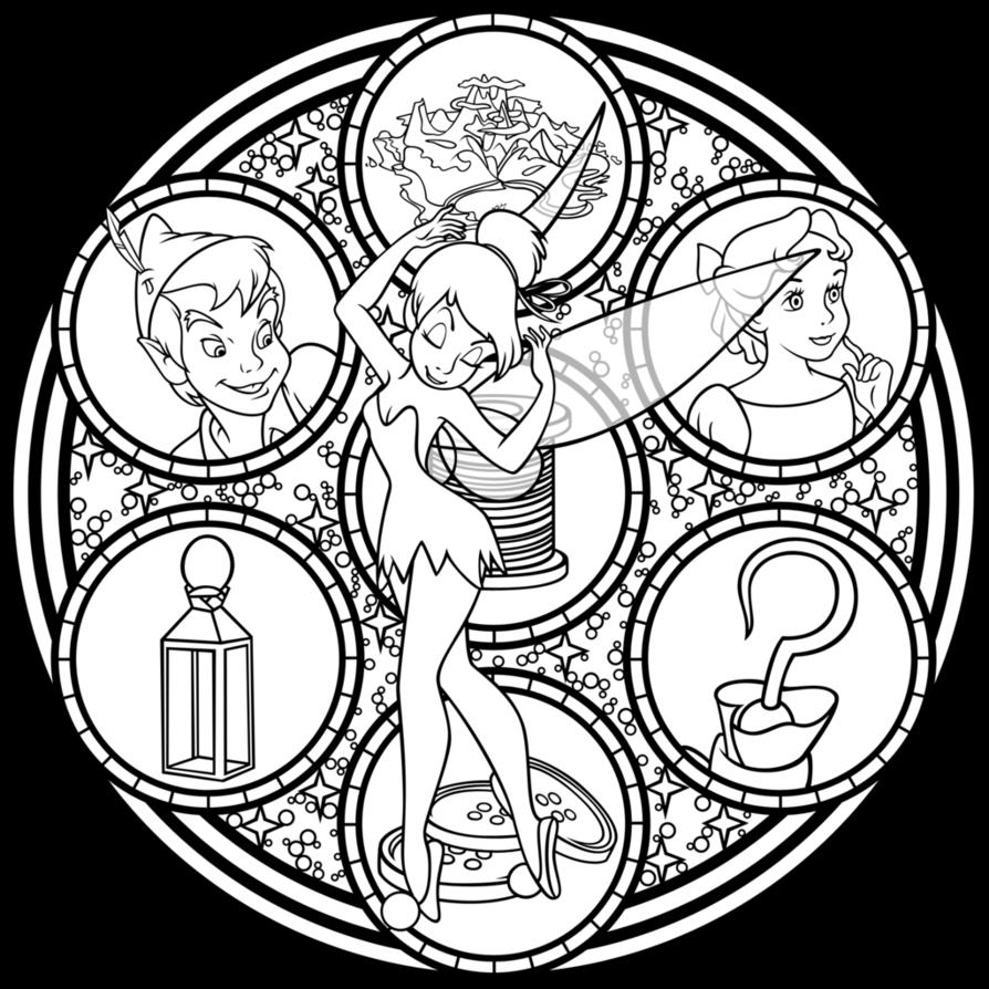SG: Tinkerbell: V1 Remastered -line art- by Akili-Amethyst on ...
