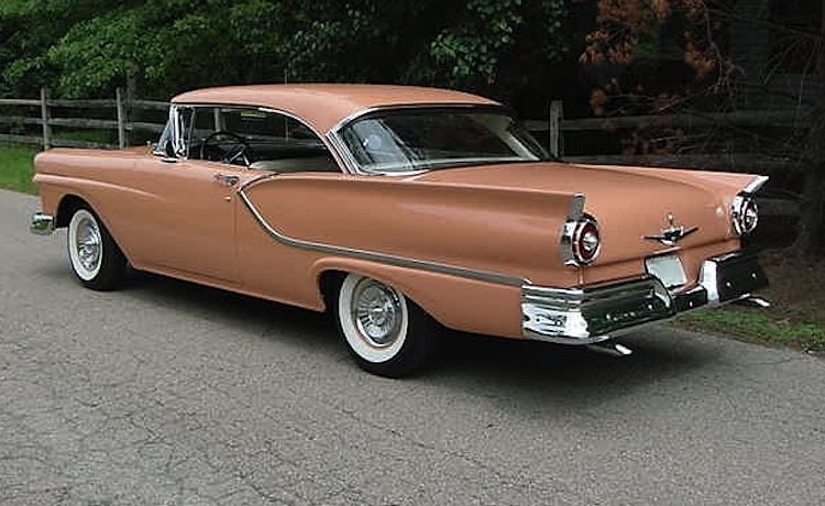 Coral Colored 1957 Ford Fairlane Http Www Sfbayhomes Com