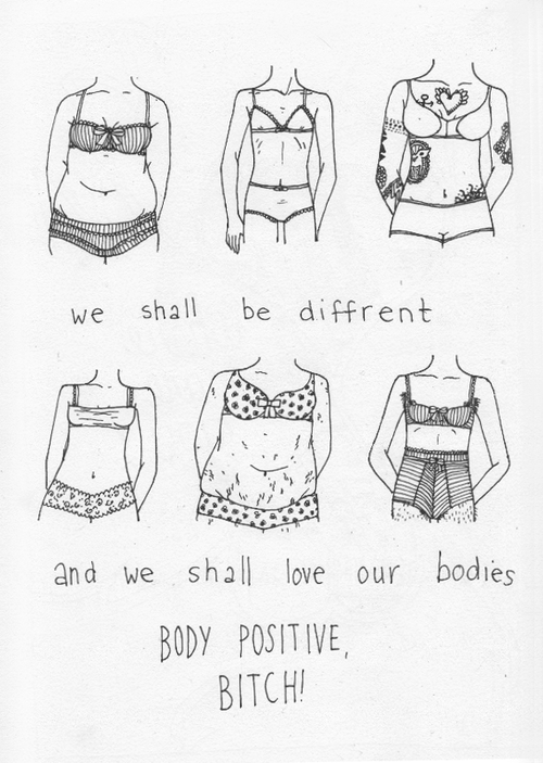Fck Your Beauty Standards 16 Body Positive Illustrations To Boost