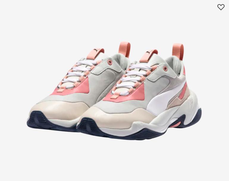 Puma Thunder Rive in Grey/Tan/Pink