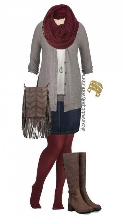 Photo of 54 Trendy boots with dress plus size fall outfits