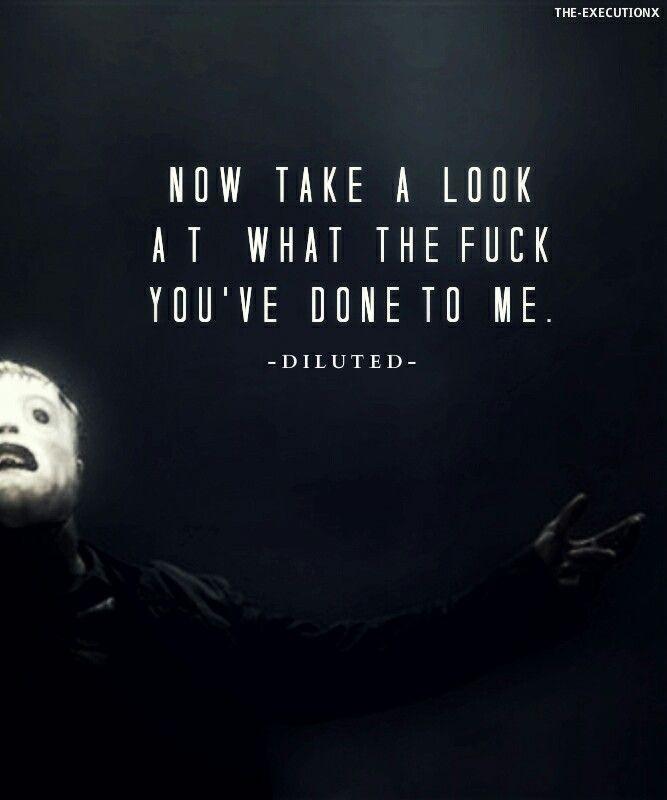Slipknot Psychosocial Quotes