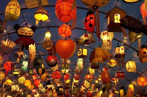 Lanterns galore in Korea