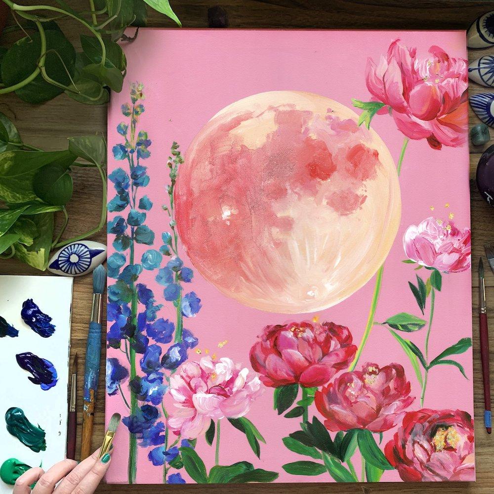 Artist Christine Lindstrom on Behind a Social Media Post (Part 3) - Society6 Blog