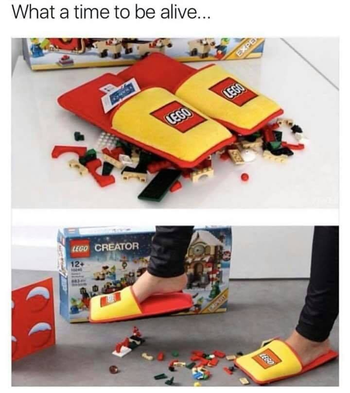 You Step On Legos Too Much? No Problem ...