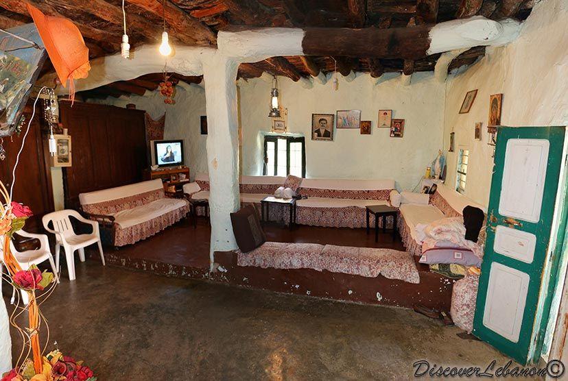 Liwan in an old house kfaar baal mount lebanon also beautiful rh pinterest