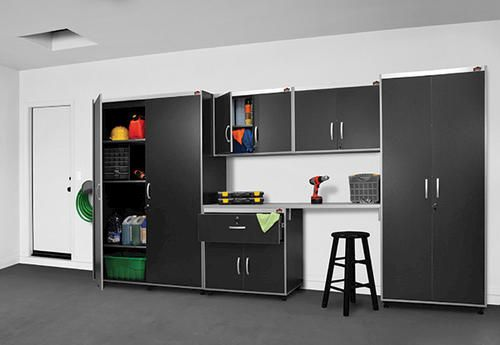 Charmant Xtreme Garage™ 6 Piece Tall Cabinet Laminate Storage System