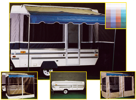 Awning Vs Screen Room Or Open Canopy Camper Awnings Campervan Awnings Pop Up Camper