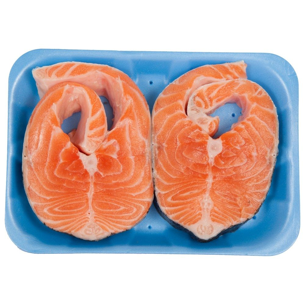 Buy Norwegian Salmon Steak 350 Gm Online in UAE,Abu dhabi, Dubai, Qatar, Kuwait On #Luluwebstore.com