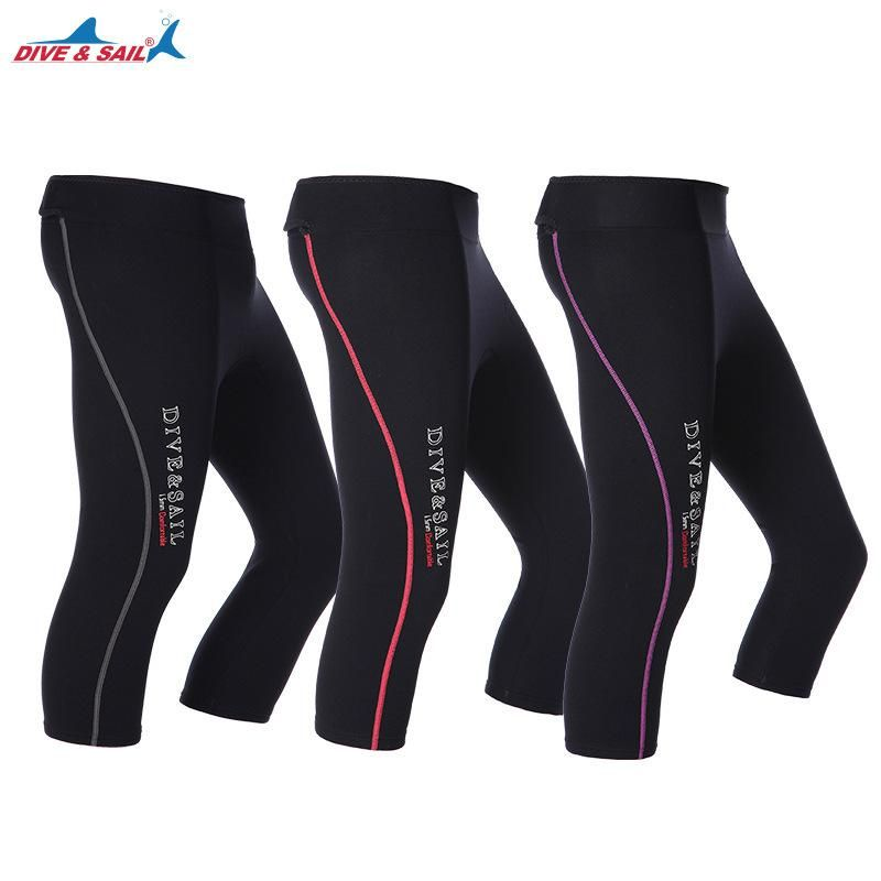 Wetsuit Pants Women Swim Tights 2mm Neoprene High Waisted Outdoor Water Sport Leggings Keep Warm for Surfing Diving Snorkeling Swimming Canoeing Sailing Paddling