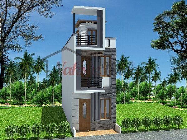 House · 3D Front Elevation Design ...