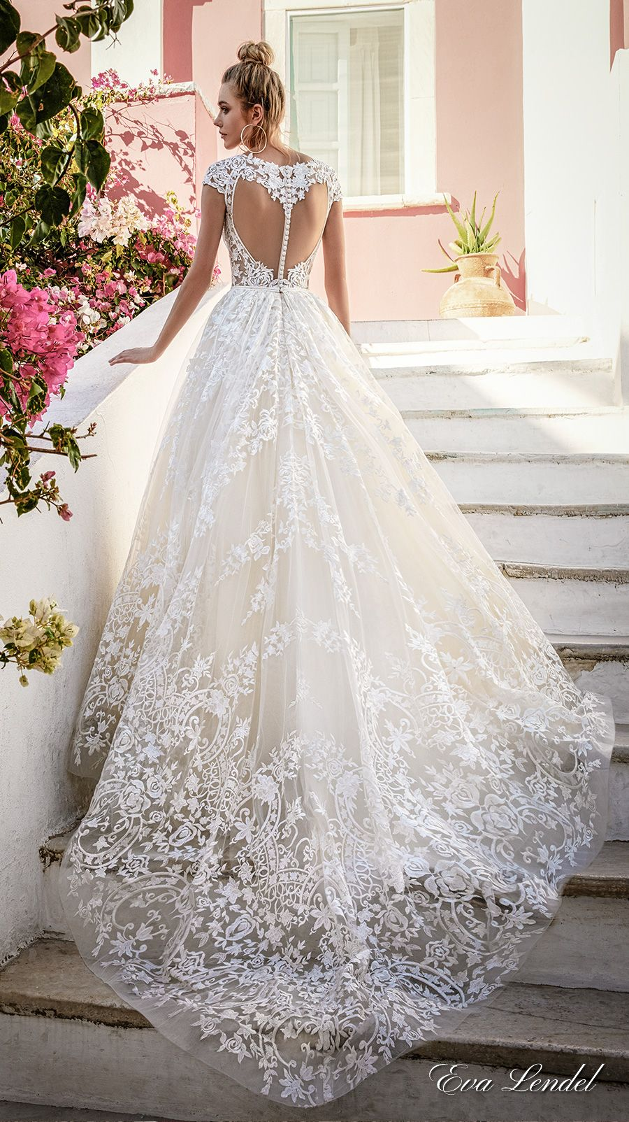 Eva lendel 2017 wedding dresses santorini bridal for How to dress for a wedding