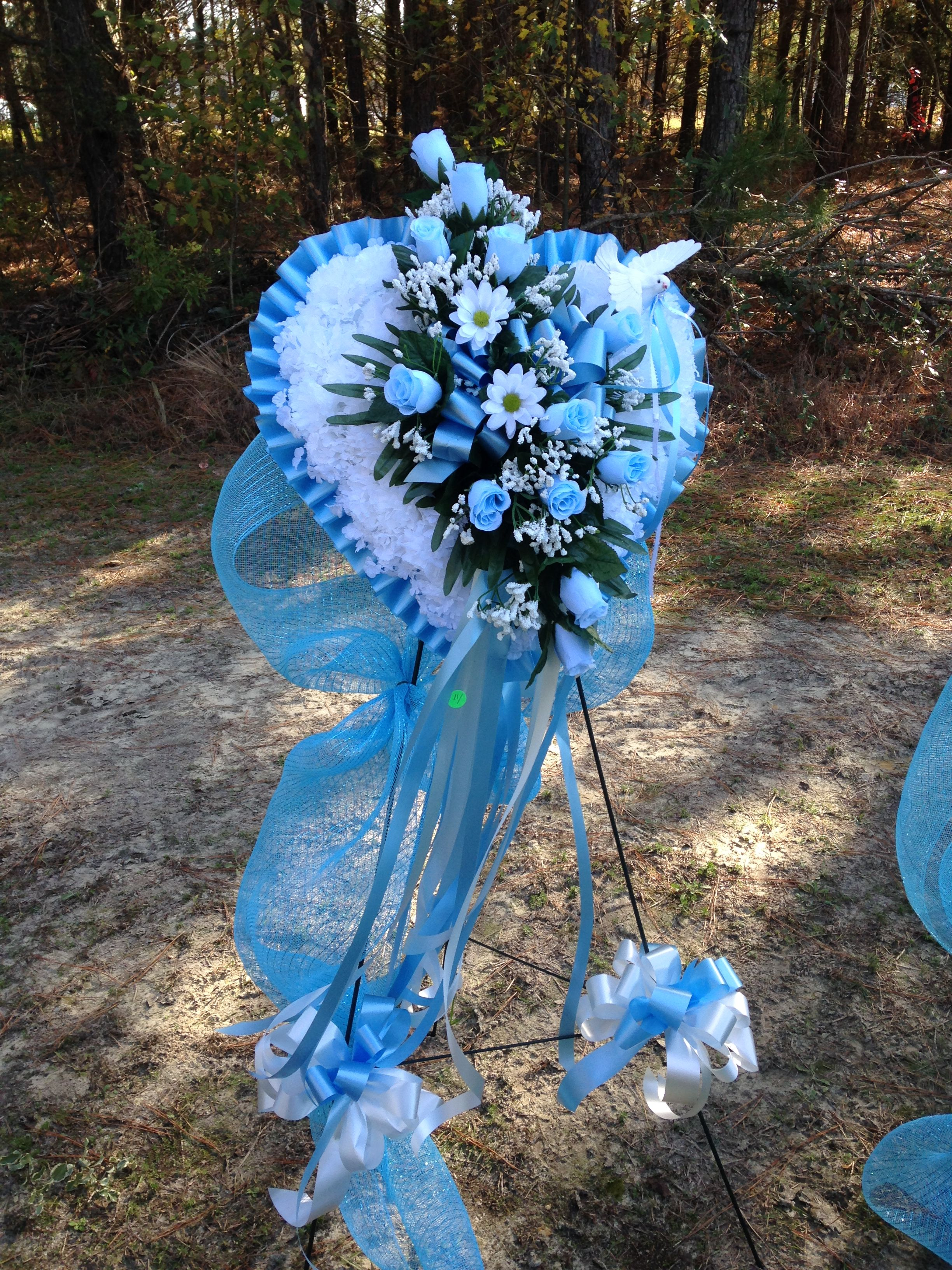 Beautiful Heart Wreath For Baby Funeral Ideas For The Houseflower
