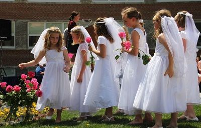 May Crowning and First Communions