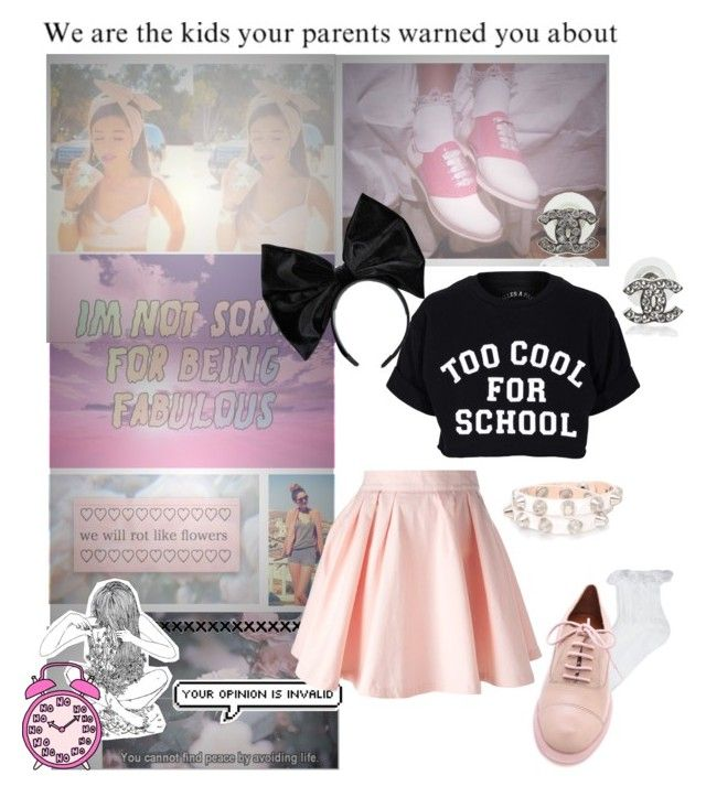 """""""Ariana grande inspired"""" by thelovelymonalisa ❤ liked on Polyvore featuring Aime, INDIE HAIR, Maison About, Filles à papa, Boohoo, ASOS, Marc by Marc Jacobs, Kurt Geiger and vintage"""