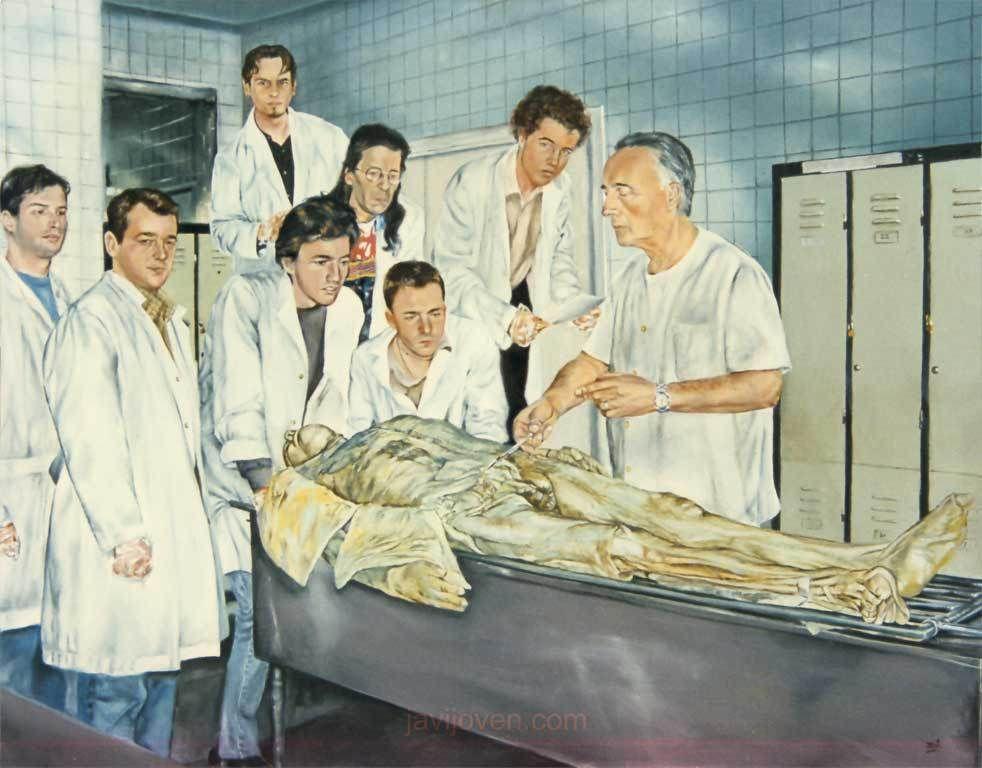 La Autopsia en el Arte: JAVIER JOVEN: \