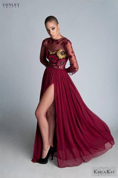 6c71db9b13a jolie robe de soirée en pagne et dentelle ...