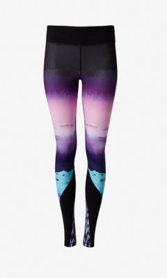 southwestern print EXP core compression legging from EXPRESS