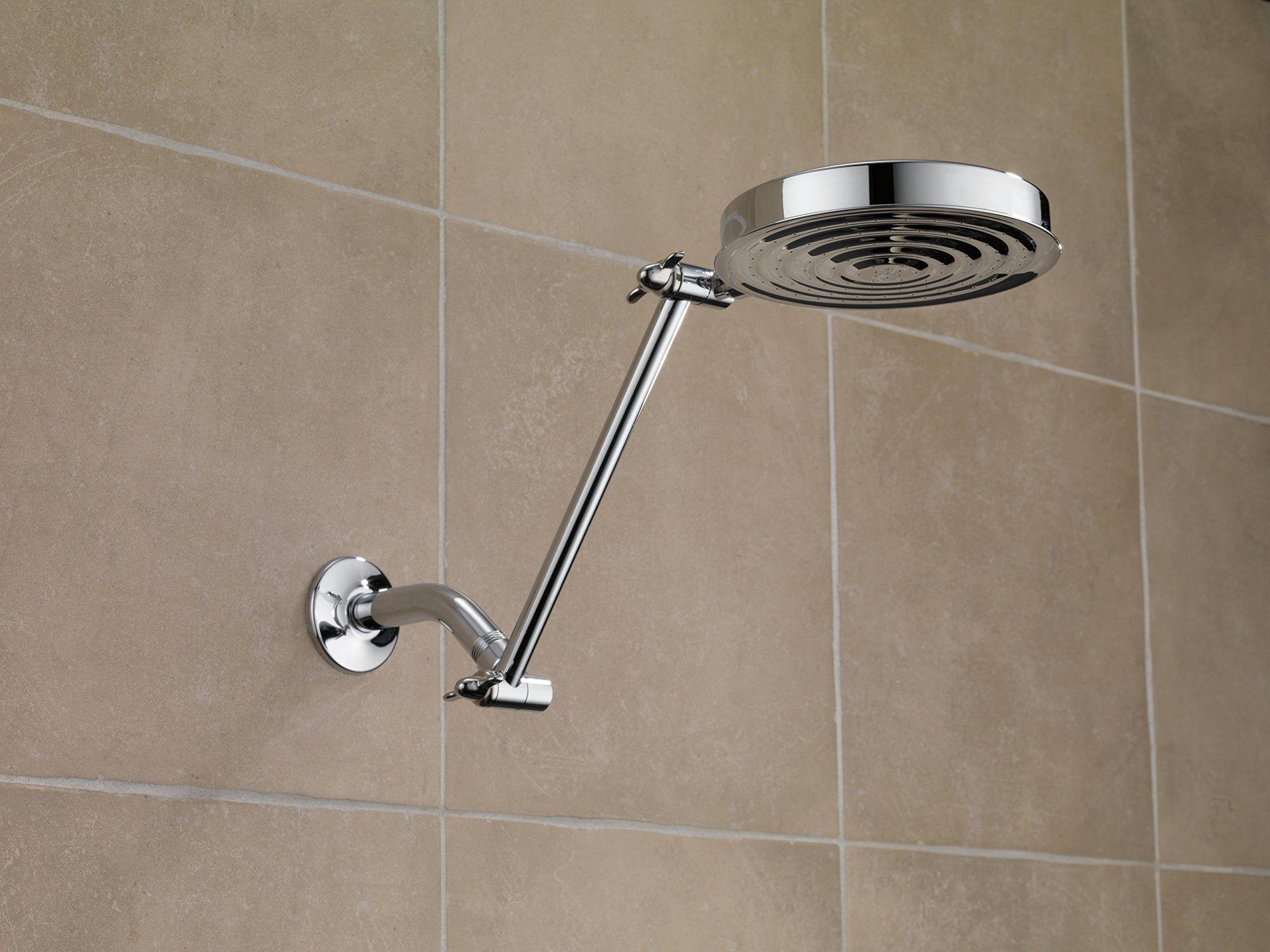 Delta Faucet Ua902pk 10inch Adjustable Shower Arm Chrome Click