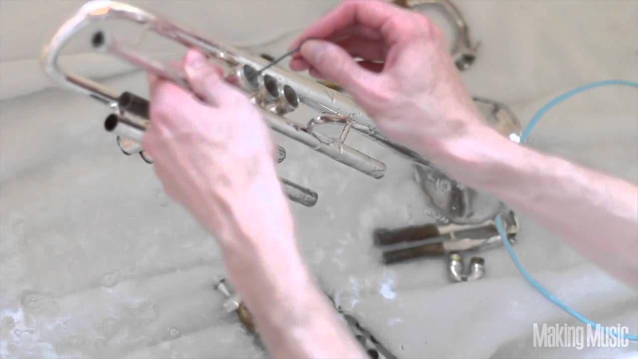 Best Way To Clean A Trumpet Trumpet Music Trumpet Brass Instruments