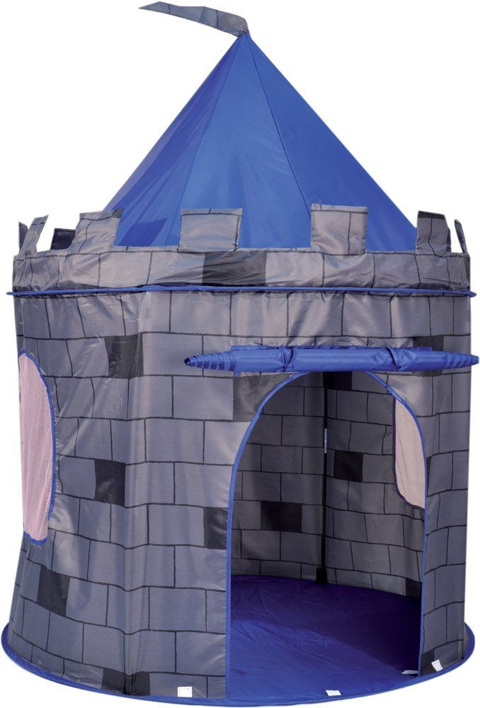 Pop Up Castle Play Tent Amazon Co Uk Toys Games Tent