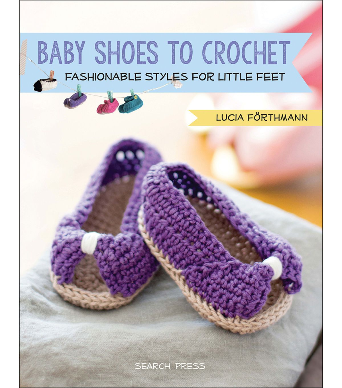 Baby Shoes To Crochet Book   Crochet books, Crochet and Babies