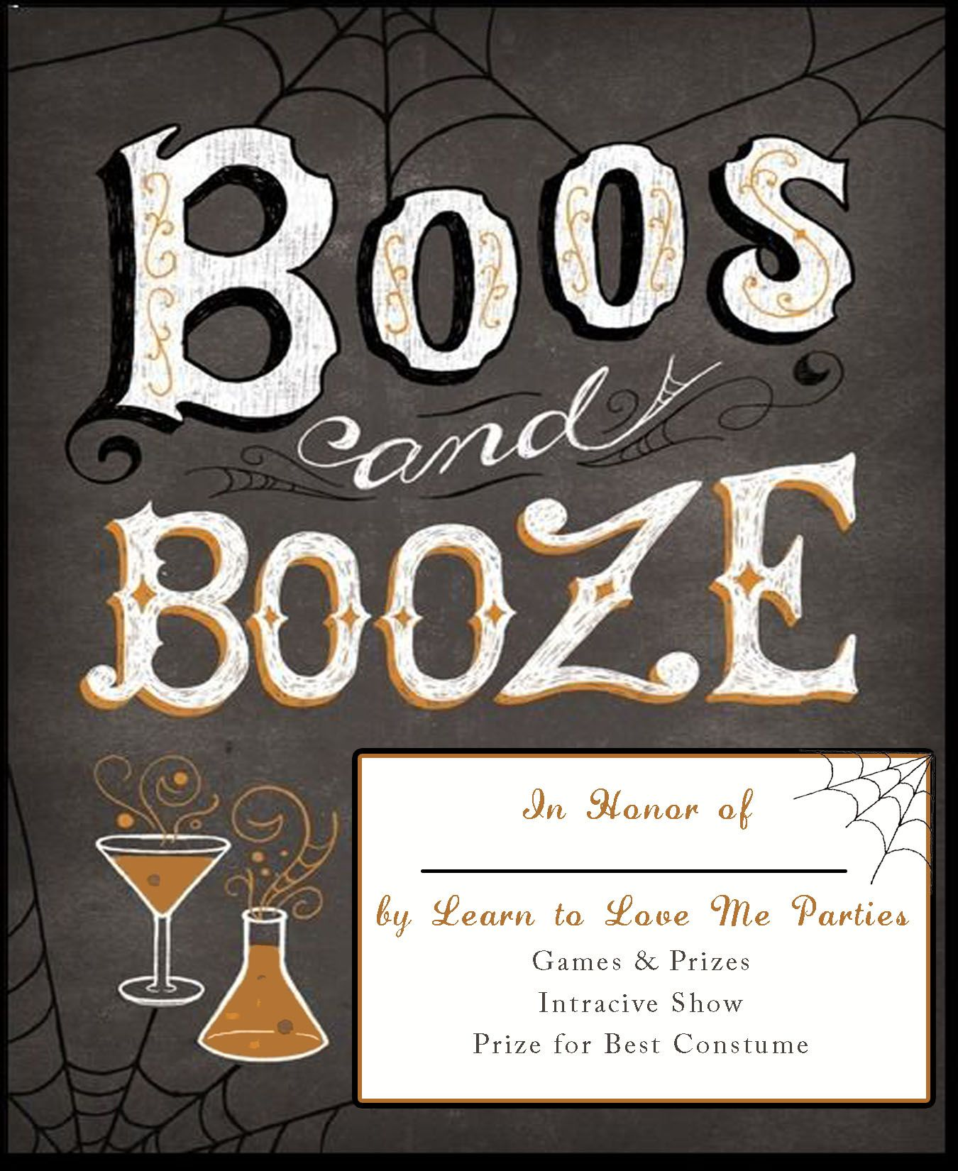 Halloween Party Ideas Boos and Booze with Learn to Love Me Parties - Halloween Party Decoration Ideas Adults