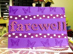 Handmade Farewell Cards 7 Card Ideas Pinterest Cards