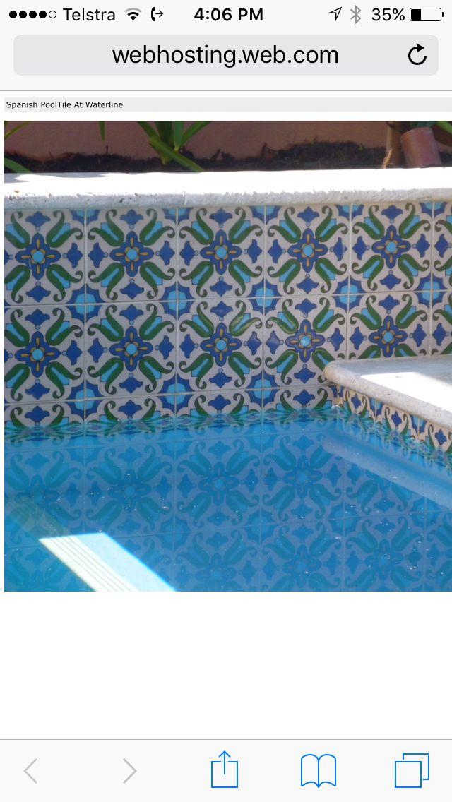 I Need These Waterline Tiles Pool Tile Pool Remodel Swimming Pools Backyard