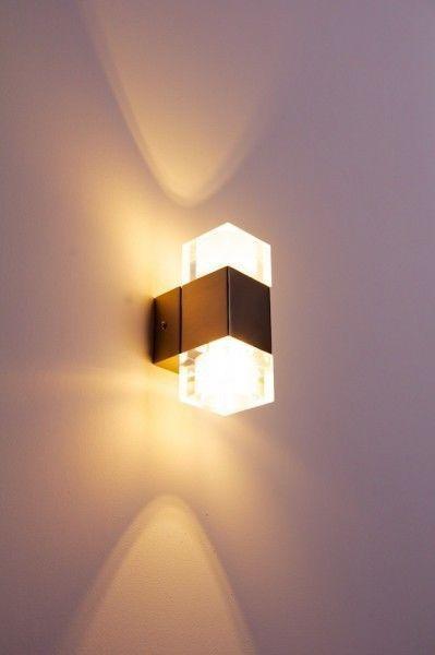 Led Flurlampe Design Wandleuchte Lampe Wandstrahler Wandlampe