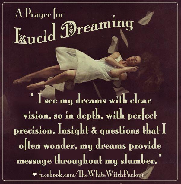 Lucid Dreaming - LovePsychic   Lucid Dreaming   Dream spell