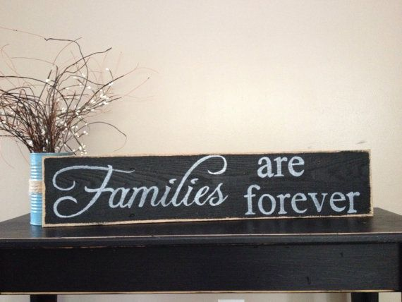 Lovely+Handmade+families+are+forever+sign+by+Cynthiaswoodensigns