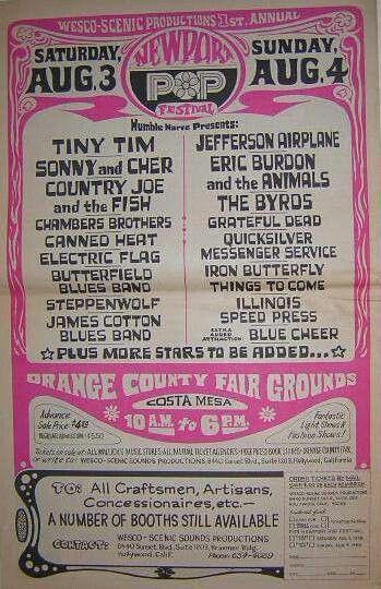 Newport Pop Festival 1968