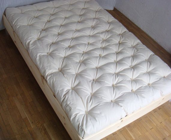 Pure Wool Mattress Full Double Xl Burlap Or 100