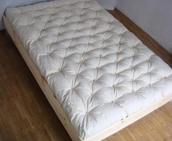 Pure Wool Mattress Full Full Xl Double Queen Filling