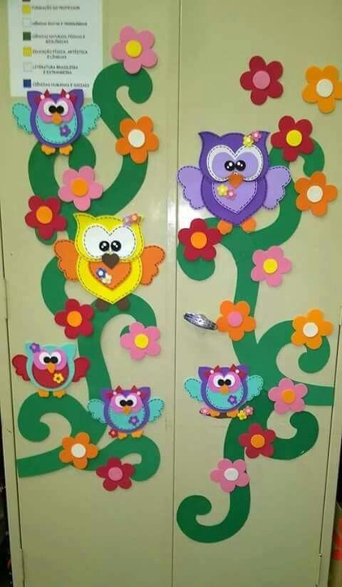 Pin de maribel solano en preescolar pinterest aula for Puertas decoradas educacion infantil