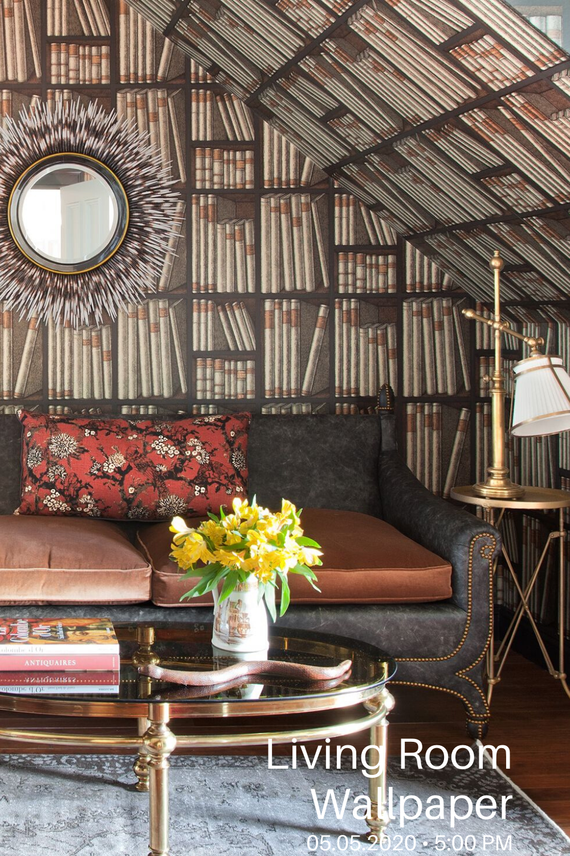 22 Wallpaper Ideas For Living Room In 2020 Family Room De