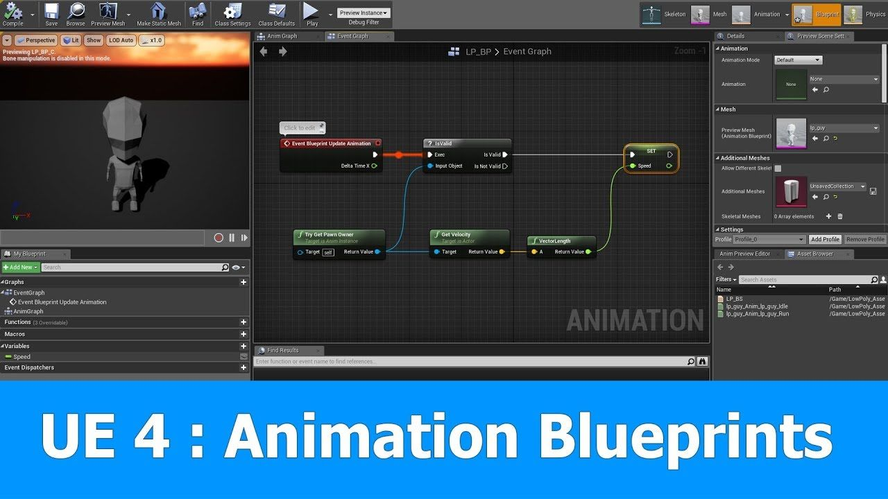Unreal engine animation blueprint tutorial ue4 tutorials unreal engine animation blueprint tutorial malvernweather Gallery