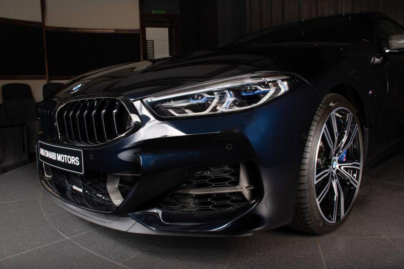 Bmw M850i Xdrive Gran Coupe Showcased In Carbon Black Metallic