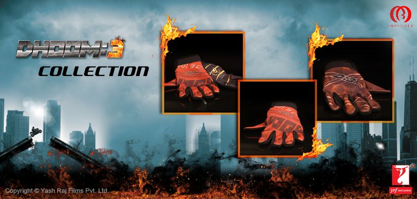 #DhoomMerchandise gloves by Orosilber for the biker in you! Hot and stylish, don't you agree?