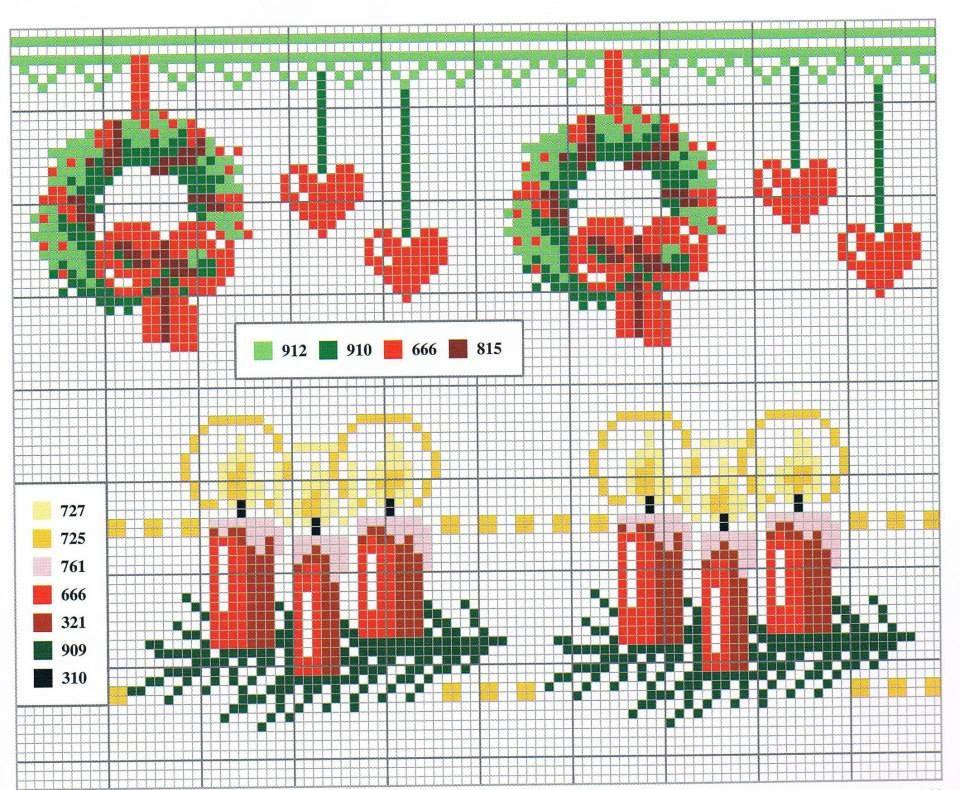 Point de croix Noël*m@* Cross stitch
