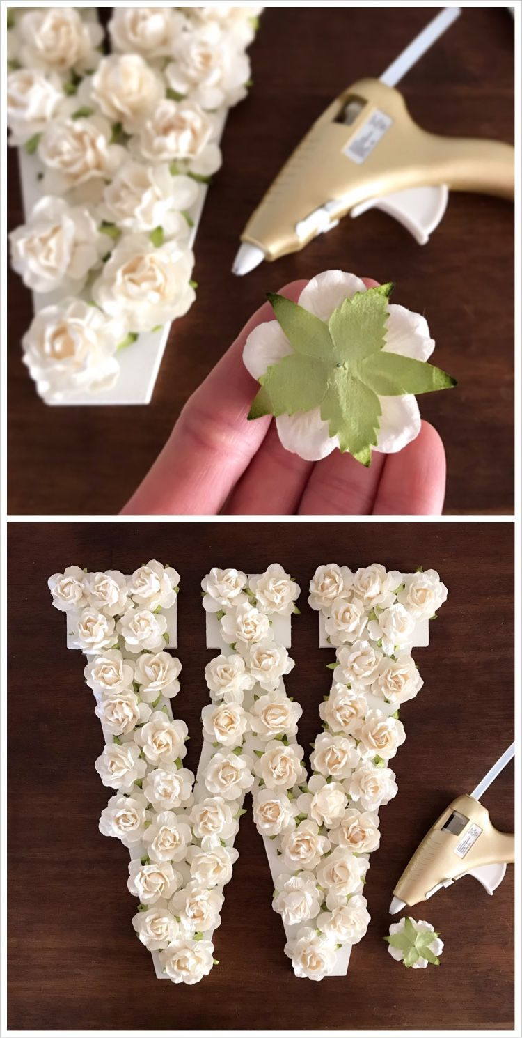 120 White Paper Flowers Perfect For Diy Wedding Decorations