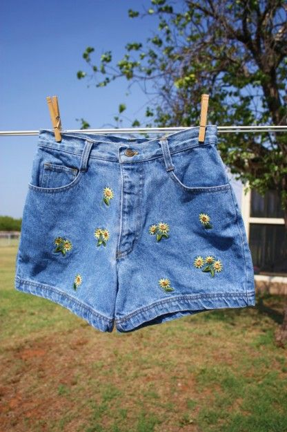 cc9f20844ed Embroidered shorts
