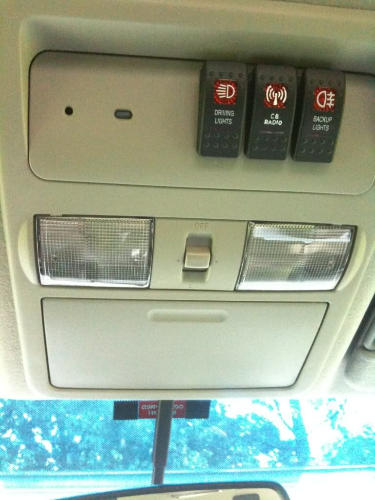Aux Switch Location 1 Nissan Xterra Jeep Zj Bug Out Vehicle