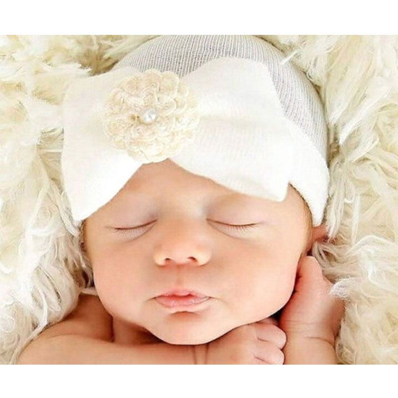 Dreamshining 0 6 months newborn photography props soft cotton baby hat striped bowknot us 1 99