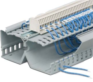 "PANDUIT DRD22LG6 2"" Height PanelMax DIN Wiring Duct (base"