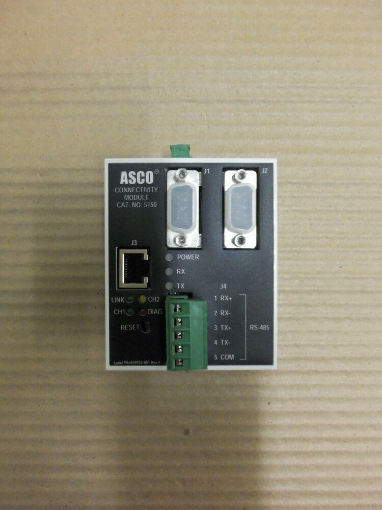 Details about ASCO CONNECTIVITY CAT. 5150 629800001G REV