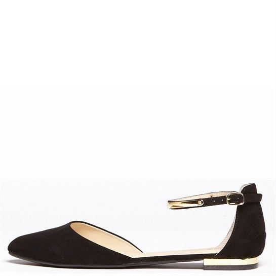 Chaussures Pimkie noir France et Ballerines or Collection U6Afanfpq