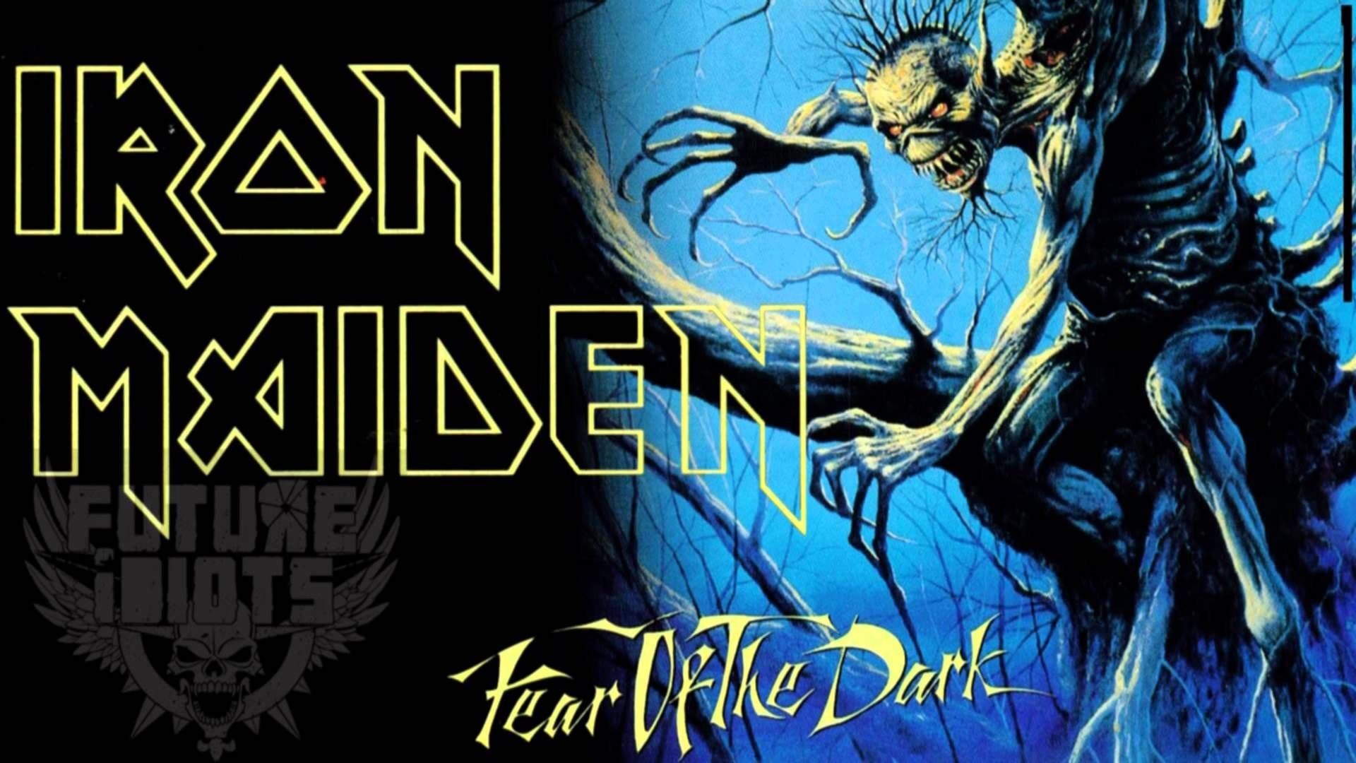iron maiden fear of the dark wallpaper